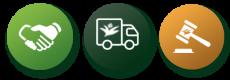 Salgsformer-ikoner